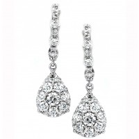1.49 Carat Diamond Earrings