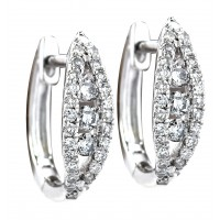 .35 Carat Diamond Earrings