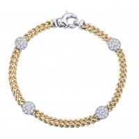 .55 Carat Diamond Bracelet