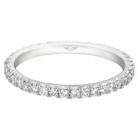 Martin Flyer FlyerFit® Eternity Wedding Band CM03FSWBQ-C-SZ6.5
