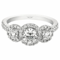 Martin Flyer FlyerFit Halo Engagement Ring CT01RDQ-C010853