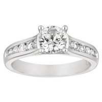 Mervis Collection Engagement Ring DERC01XSQ-F-6.0RD
