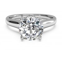 Ritani Solitaire Ring 1RZ2465CRWG-6