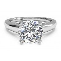 Ritani Solitaire Ring 1RZ7234CRWG-6