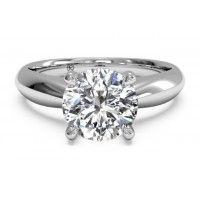 Ritani Solitaire Ring 1RZ7244CRWG-6