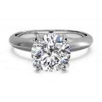 Ritani Solitaire Ring 1RZ7262CWG-6