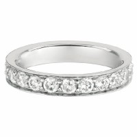 Martin Flyer Our Destiny Our Dreams Eternity Wedding Band DWBFM3Q-2.00-F