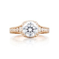 Tacori Pretty in Pink Collection Round Cut Ring HT2515RD812XPK