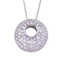 .95 Carat Diamond Necklace