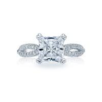 Tacori Ribbon Collection Tacori Ribbon Classic Engagement Ring 2573PR7
