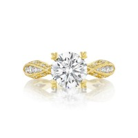 Tacori Tacori Gold Collection Round Cut Ring 2578RD8Y