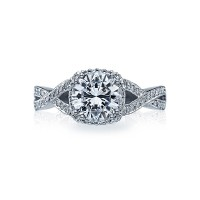 Tacori Dantela Collection Engagement Ring 2627RDMD