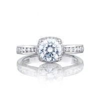Tacori Dantela Collection Classic Mirror Finish Ring 2646-25RDC65