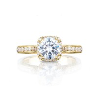 Tacori Dantela Collection Classic Mirror Finish Ring 2646-25RDC65Y