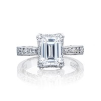 Tacori Dantela Collection Classic Engagement Ring 2646-3EC8X6