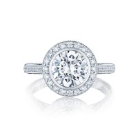 Tacori Starlit Collection Round Cut Ring 306-25RD8
