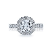 Tacori Blooming Beauties Collection Round Cut Ring HT2520RD75