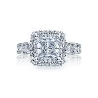 Tacori Blooming Beauties Collection Princess Cut Ring HT2521PR7