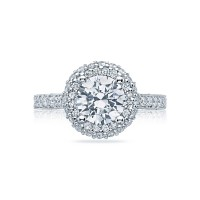 Tacori Blooming Beauties Collection Round Diamond Ring HT2522RD75