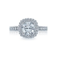 Tacori Blooming Beauties Collection Round Cut Ring HT2523CU7
