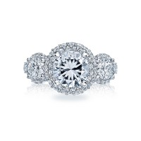 Tacori Blooming Beauties Collection Signature Crescent Ring HT2525RD8