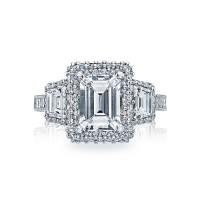 Tacori Blooming Beauties Collection Emerald Cut Ring HT2527EC85X65