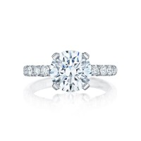 Tacori Petite Crescent Collection Classic Engagement Ring HT254525RD9