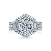 Tacori RoyalT Collection Engagement Ring HT2603RD95