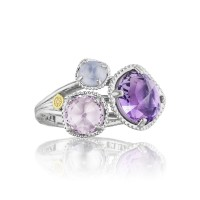 Tacori Lilac Blossoms Simply Gem Cluster Ring