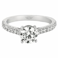 FlyerFit Cut Down Engagement Ring