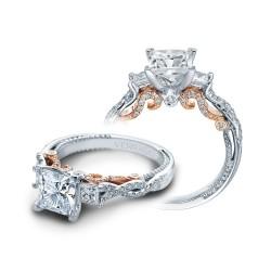 Verragio Three Stone Twist Engagement Ring