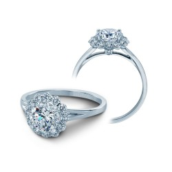 Verragio Diamond Halo Engagement Ring