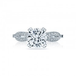 Tacori Ribbon Collection Engagement Ring 2573MDRD75
