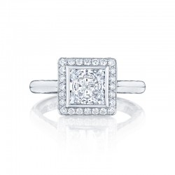 Tacori Starlit Collection Princess Cut Ring 304-25PR65