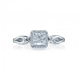 Tacori Sculpted Crescent Collection Solitaire Ring 52PR5