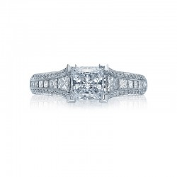 Tacori Classic Crescent Collection Engagement Ring HT2513PR712X
