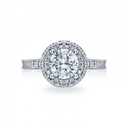 Tacori Blooming Beauties Collection Diamond Crescent Ring HT2517RD75