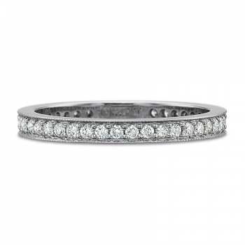 Precision Set Diamond Band 100118W