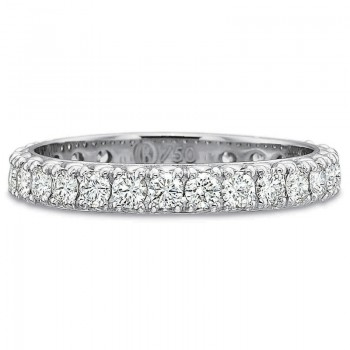 Precision Set Diamond Eternity Prong Set Band