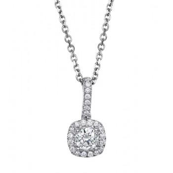 Coast Diamond Diamond Halo Pendant - PC5256