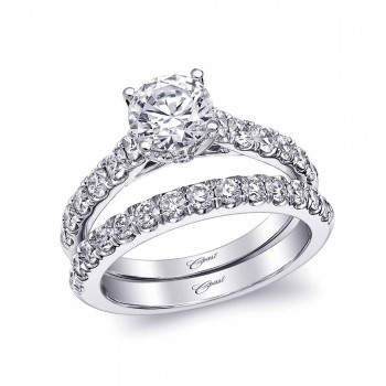 Coast Diamond Semi-Mount Ring LC5461