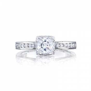Tacori Dantela Collection Princess Cut Ring 2646-25PR5