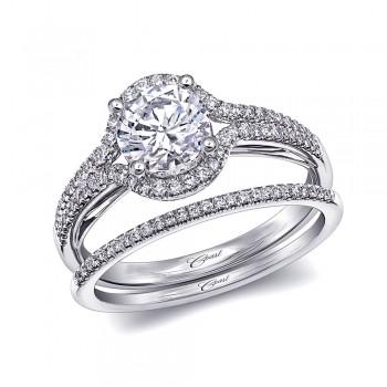 Coast Diamond Semi-Mount Ring LC6005 LC6005