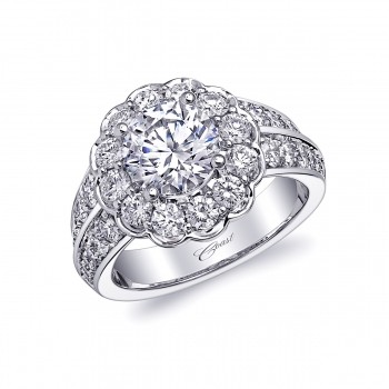 Coast Diamond Engagement Ring - LS10152