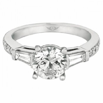 Martin Flyer FlyerFit Bead Set Engagement Ring 4209FFCXWRQ-C-7.0RD