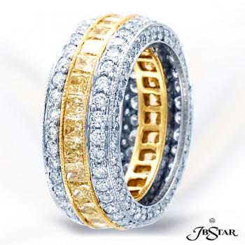 JB Star/Jewels By Star Fancy Color Diamond Eternity Band