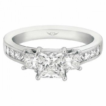 Martin Flyer FlyerFit Engagement Ring 5138FFSEPQ-C-5.5PC