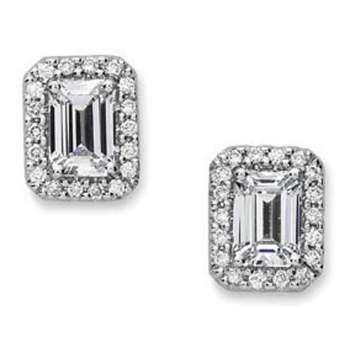 Precision Set Diamond Micro Prong Earring Setting