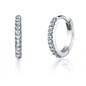 Coast Diamond Diamond Hoop Earrings - EC5135