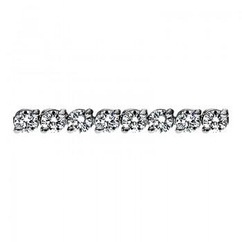 Sasha Primak Two-Prong Round Diamond Bracelet